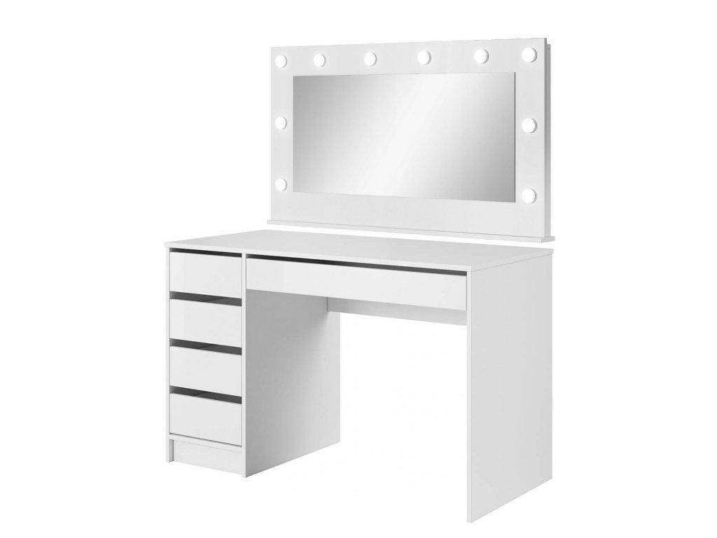 Biely toaletný stolík ADA