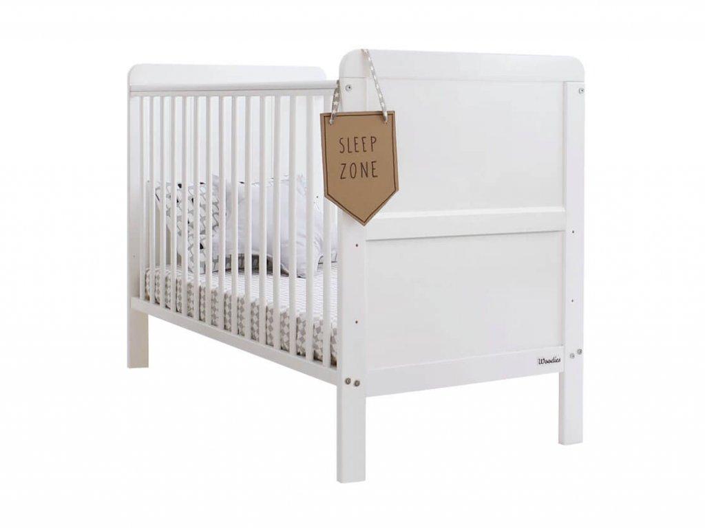 Detská postieľka 2v1 Classic Cot Bed 140x70