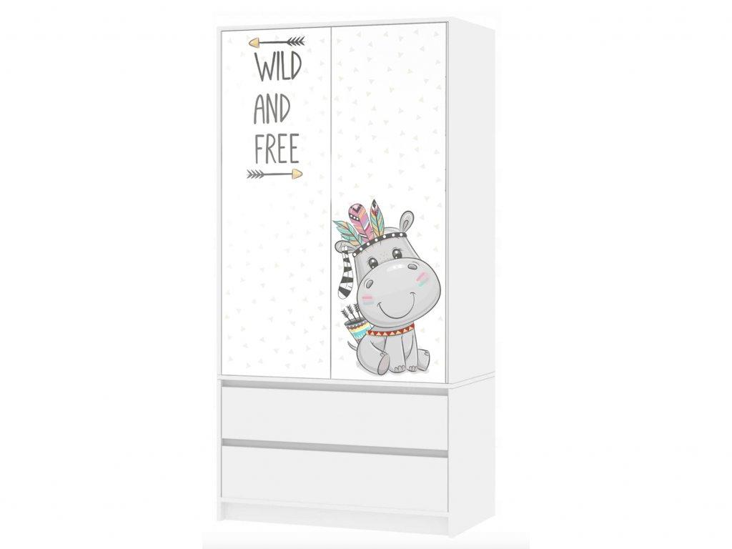 Skriňa pre deti Wild and Free