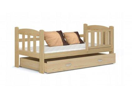 Tedi 160x70 Borovica detská posteľ