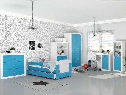 Detské izby Filip COLOR 160x80