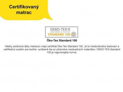 Kokosový matrac HUNT s pružinami 200x160