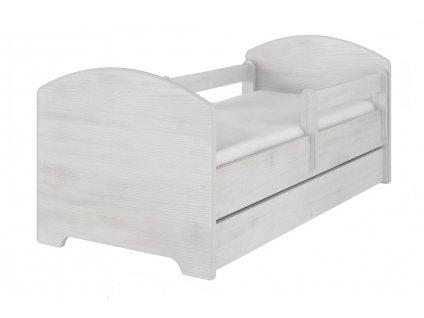 Detská posteľ Oskar 140x70 nórska borovica
