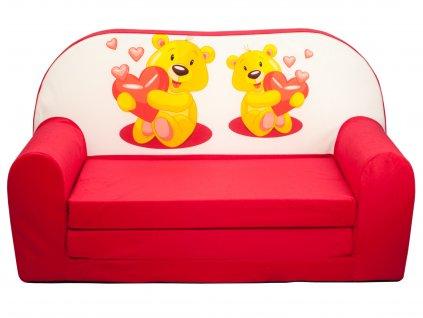 Mini pohovka pre deti - viac motívov a farieb