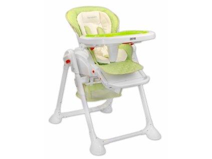 Jedálenská stolička Coto baby Zefir Zelená