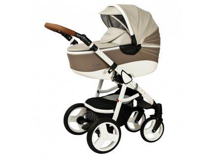 Kombinovaný kočík Quara Coto Baby Coffee eco 2v1