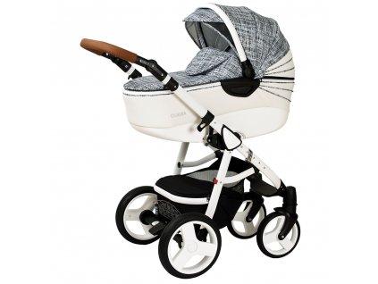 Kombinovaný detský kočík Quara Coto Baby Print eco 2v1