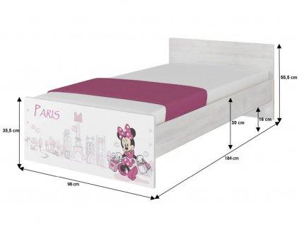 Detská izba Max X Minnie Paris Disney (3 ks)