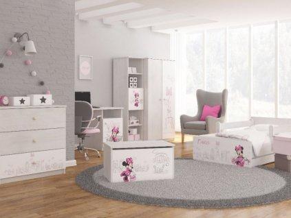Detská izba Max X Minnie Paris Disney 180x90 (3 ks)
