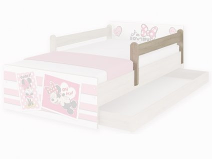 Bariérka na detské postele Max a Max XL - farba dub