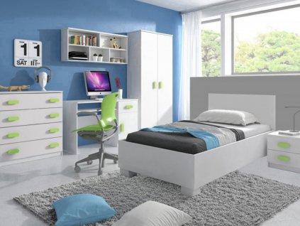 Detská izba LOOP zelená