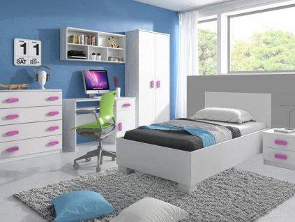 Detská izba LOOP ružová