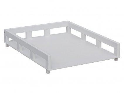 Prebaľovací pult na posteľ Ogy biely (buk)