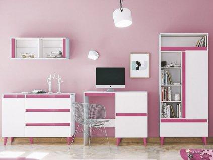 Detská izba TIP 3 - ružová