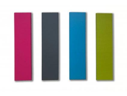 Farebné úchytky pre nábytok IRIS