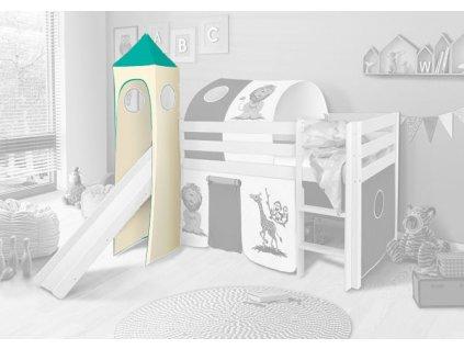 Veža k detskej posteli SORO - viac motívov