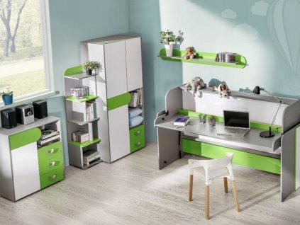 Detská izba FOMA 1- zelená