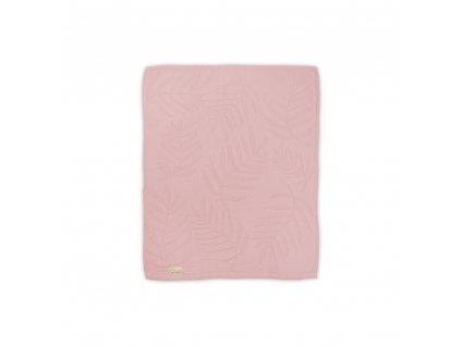 Bavlnená deka Albero Mio 80x100 - ružová