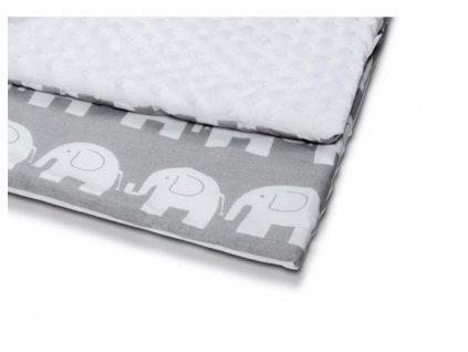 Detská deka minky 80x60 cm