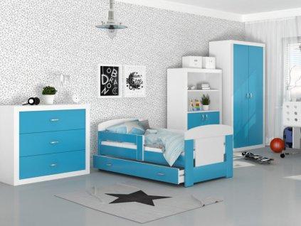Detská izba Filip modrá 160x80