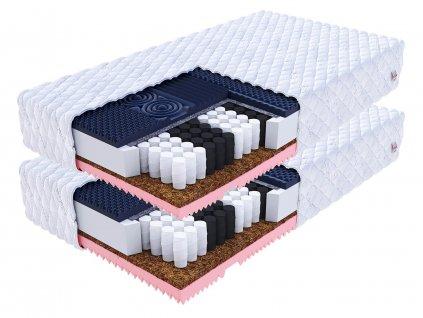 Gina taštičkové matrace 90x200 (2 ks) - 1+1