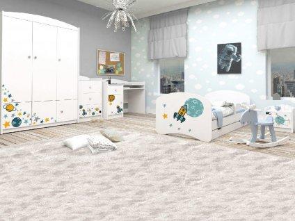 Detská izba VENI Special Edition RAKETA (160x80)