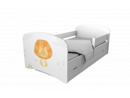 Special Edition posteľ 160x80 MADAGASKAR + úl. box
