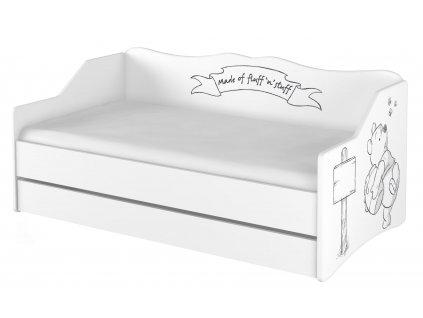 Detská posteľ Lulu Macko Pu - 160x80 cm