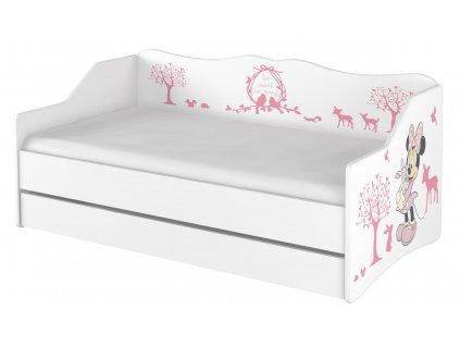 Detská posteľ Lulu Minnie - 160x80 cm