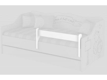Bariérka na detské postele - biela