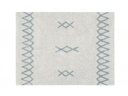 Detský práteľný koberec ATLAS Vintage Blue 120x160