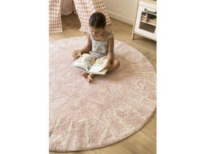 Práteľný koberec ABCeda Nude