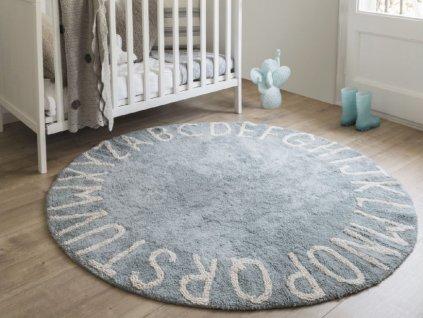 Prateľný koberec ABCeda Azul