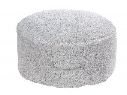 Bavlnený puf na sedenie