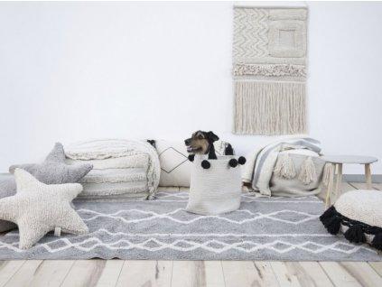 Detský prateľný koberec Oasis Grey 120x160