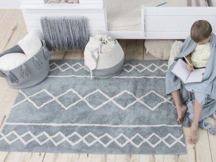 Detský prateľný koberec Oasis Blue 120x160