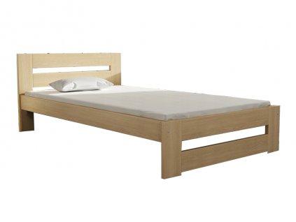 Jednolôžková borovicová posteľ MARA