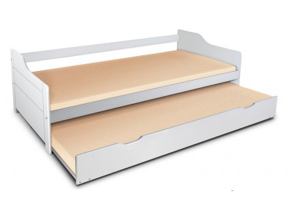 Detská posteľ Basty 200x90 s prístelkou