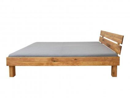 Dubová manželská posteľ Alea