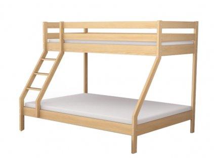 Mikael Natura poschodová posteľ 200x140