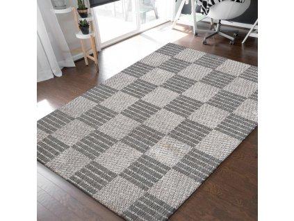 Obojstranný tkaný koberec Harper 01 Grey
