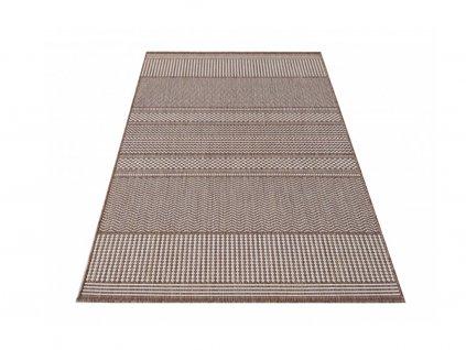 Obojstranný tkaný koberec Harper 02 Brown