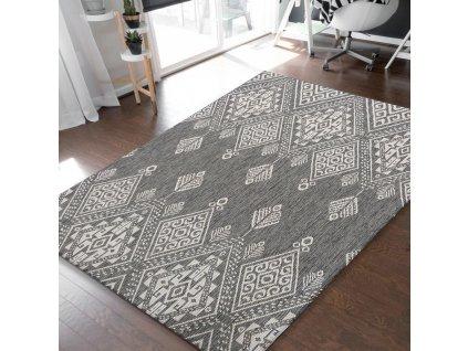 Obojstranný tkaný koberec Harper 03 Grey