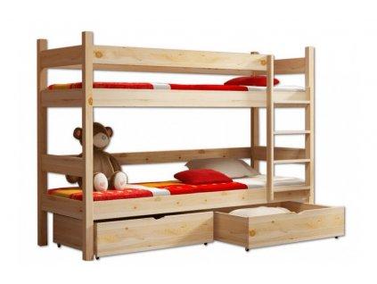 Poschodové postele Paula 2 180x80