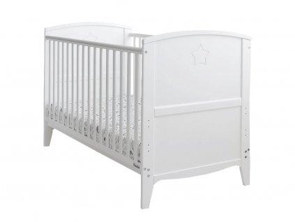 Detská postieľka 2v1 Starlight Cot Bed 140x70