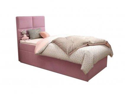 Detská čalúnená posteľ Love 90x200