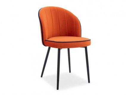 Jedálenská stolička Nixi - oranžová