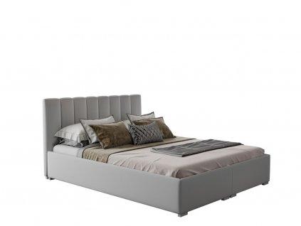 Čalúnená manželská posteľ Kit