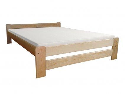 Manželská borovicová posteľ Ema