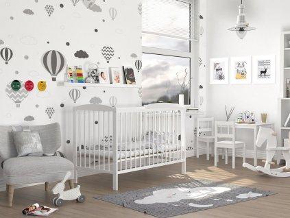 Detská postieľka 120x60 Sisi
